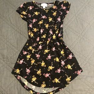 Lularoe Flamingo Dress ~ 2T